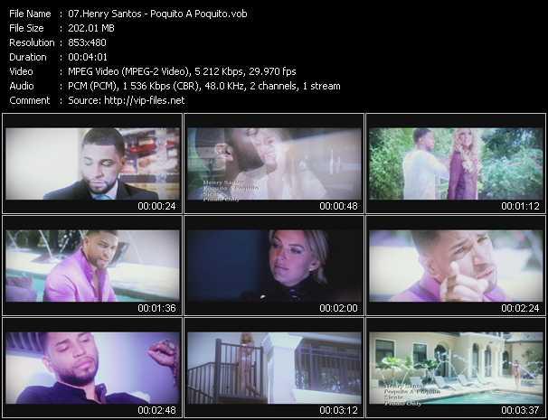 Henry Santos - Poquito A Poquito