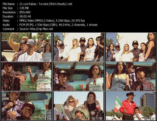 Los Rakas - Ta Lista (She's Ready)