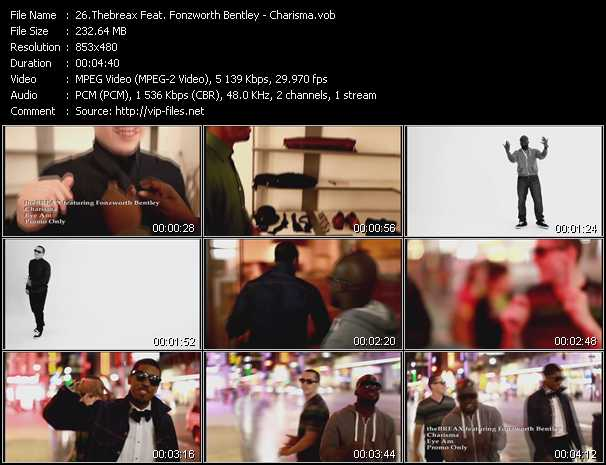 Thebreax Feat. Fonzworth Bentley - Charisma