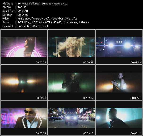 Prince Malik Feat. Lumidee - Makusa