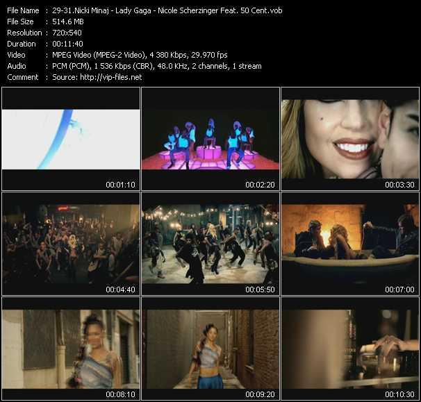 Nicki Minaj - Lady Gaga - Nicole Scherzinger Feat. 50 Cent - Super Bass - Judas - Right There