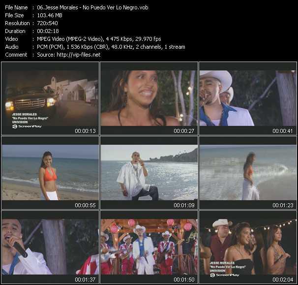 Jesse Morales - No Puedo Ver Lo Negro