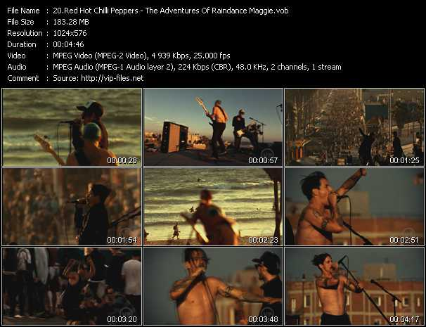 Red Hot Chili Peppers - The Adventures Of Raindance Maggie