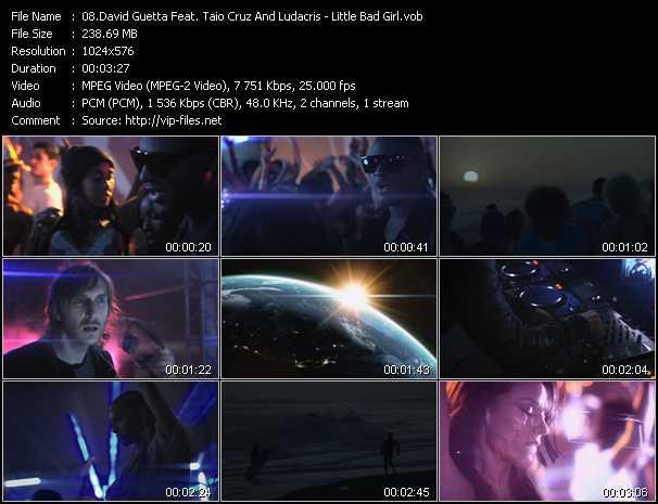 David Guetta Feat. Taio Cruz And Ludacris - Little Bad Girl