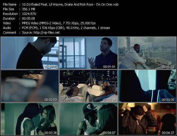 Dj Khaled Feat. Lil' Wayne, Drake And Rick Ross - I'm On One