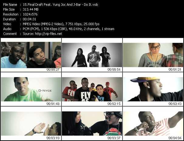 Final Draft Feat. Yung Joc And J-Bar - Do It