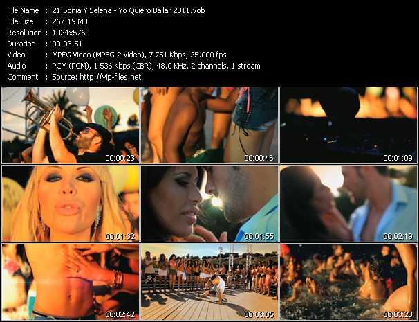Sonia Y Selena - Yo Quiero Bailar 2011