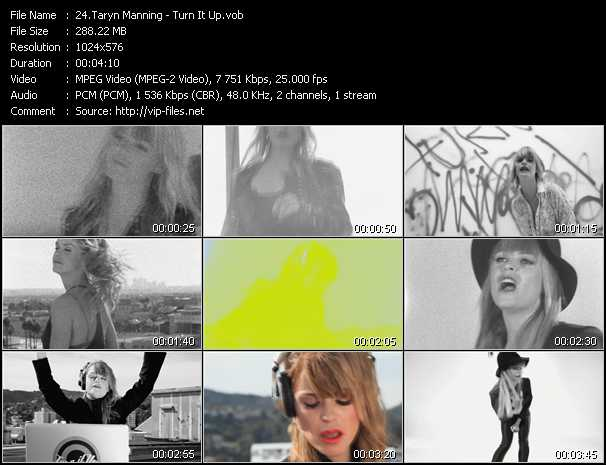 Taryn Manning - Turn It Up
