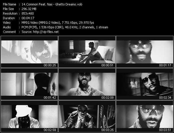 Common Feat. Nas - Ghetto Dreams