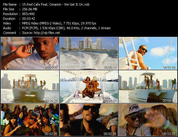 Red Cafe Feat. Omarion - We Get It On