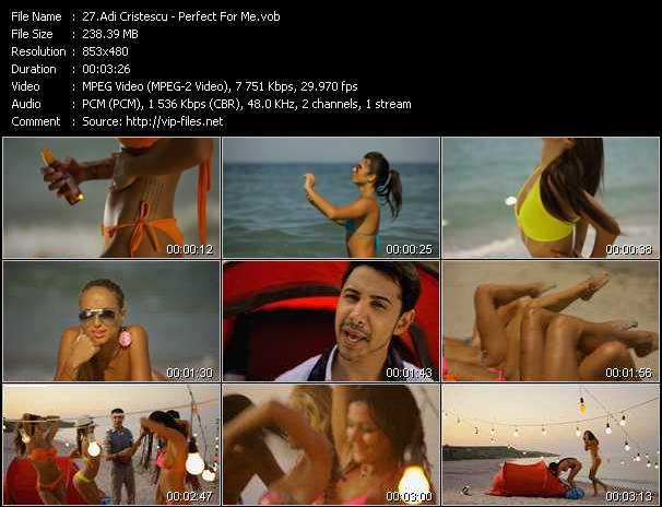 Adi Cristescu - Perfect For Me