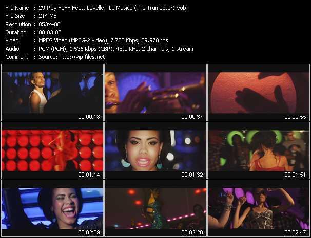 Ray Foxx Feat. Lovelle - La Musica (The Trumpeter)