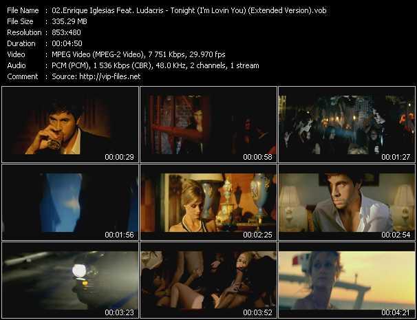 Enrique Iglesias Feat. Ludacris - Tonight (I'm Lovin You) (Extended Version)
