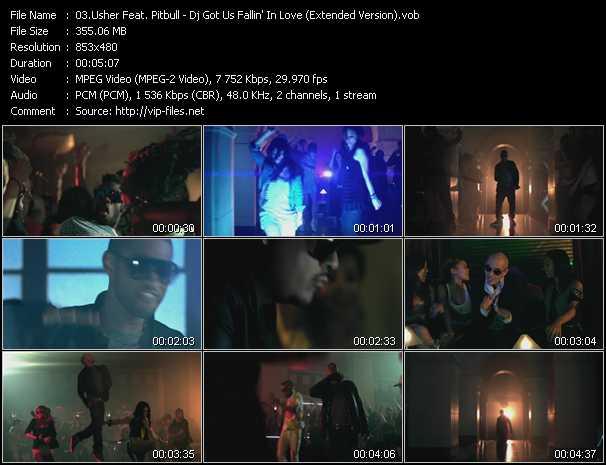 Usher Feat. Pitbull - Dj Got Us Fallin' In Love (Extended Version)