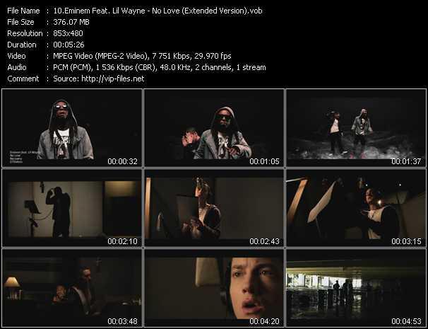 Eminem Feat. Lil' Wayne - No Love (Extended Version)