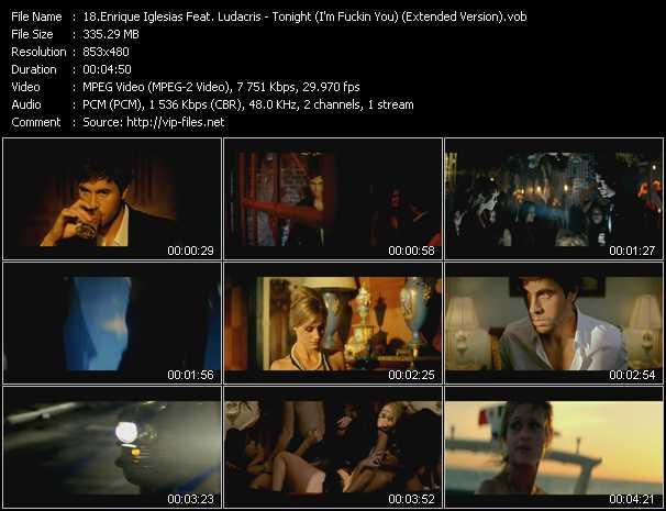 Enrique Iglesias Feat. Ludacris - Tonight (I'm Fuckin You) (Extended Version)