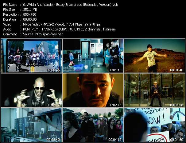 Wisin And Yandel - Estoy Enamorado (Extended Version)