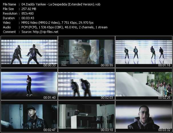 Daddy Yankee - La Despedida (Extended Version)