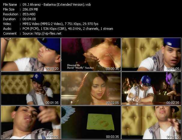 J Alvarez - Bailarina (Extended Version)