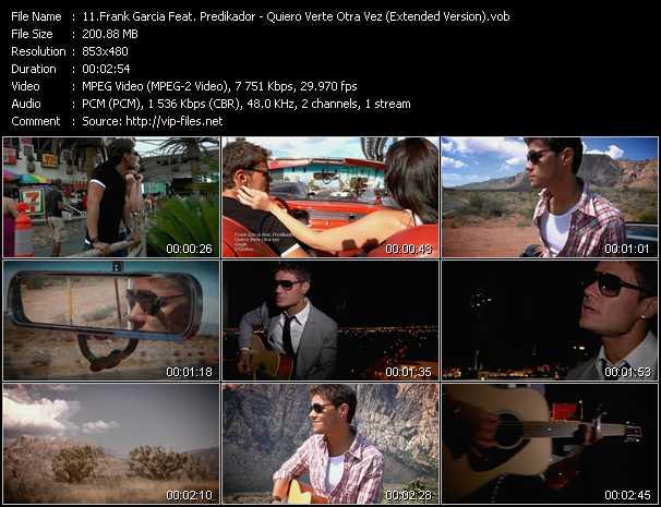 Frank Garcia Feat. Predikador - Quiero Verte Otra Vez (Extended Version)