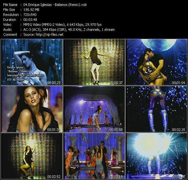 Enrique Iglesias - Bailamos (Remix)