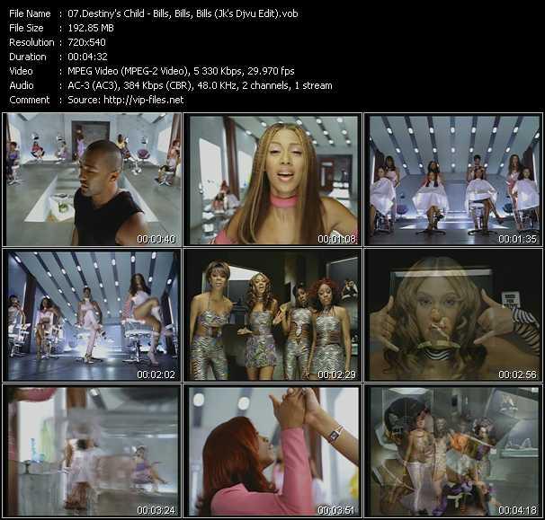 Destiny's Child - Bills, Bills, Bills (Jk's Djvu Edit)