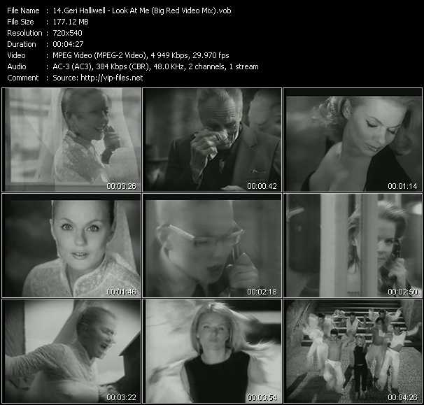 Geri Halliwell - Look At Me (Big Red Video Mix)