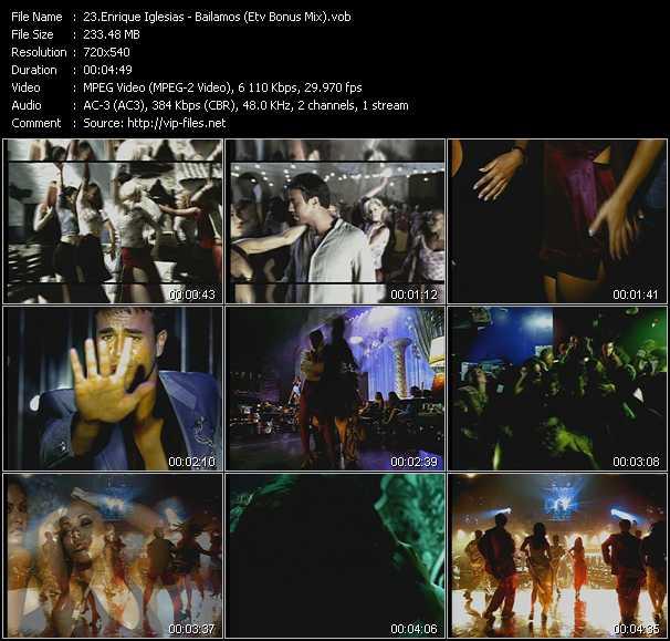 Enrique Iglesias - Bailamos (ETV Bonus Mix)
