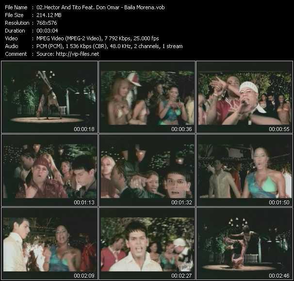 Hector And Tito Feat. Don Omar - Baila Morena