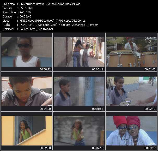Carlinhos Brown - Carlito Marron (Remix)