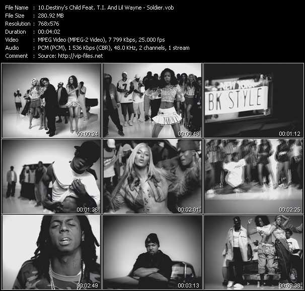 Destiny's Child Feat. T.I. And Lil' Wayne - Soldier