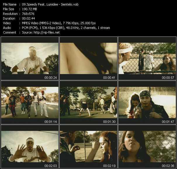 Speedy Feat. Lumidee - Sientelo