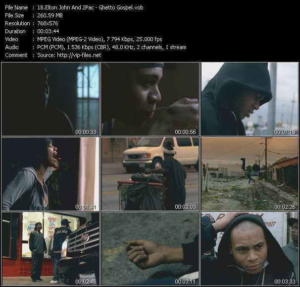 Elton John And 2Pac (Tupac Shakur) - Ghetto Gospel