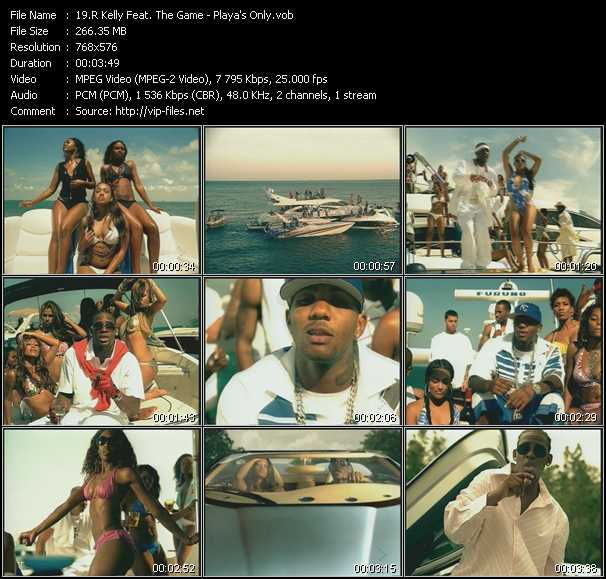R. Kelly Feat. The Game - Playa's Only