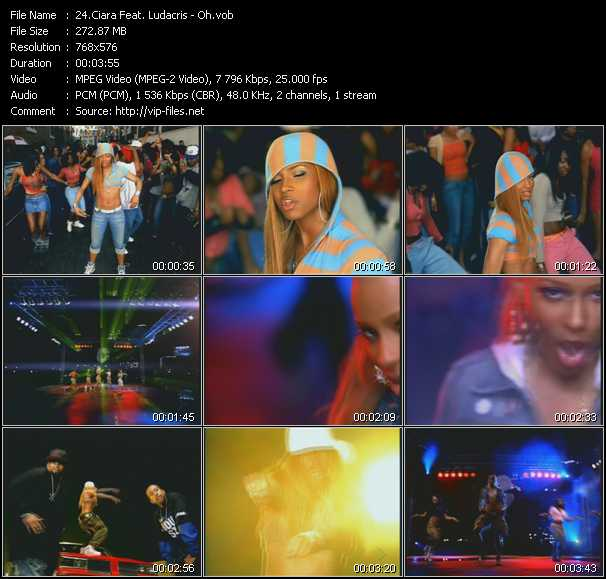 Ciara Feat. Ludacris - Oh