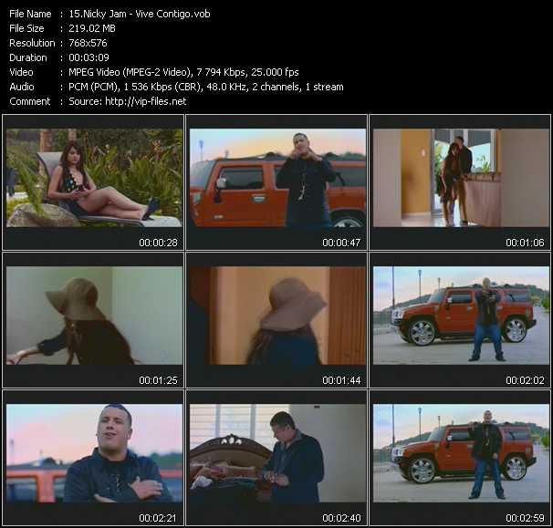 Nicky Jam - Vive Contigo