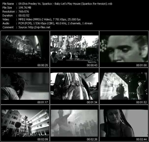 Elvis Presley Vs. Spankox - Baby Let's Play House (Spankox Re-Version)
