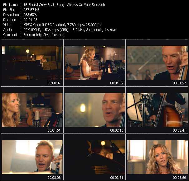 Sheryl Crow Feat. Sting - Always On Your Side