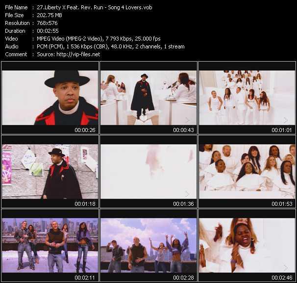 Liberty X Feat. Rev. Run - Song 4 Lovers