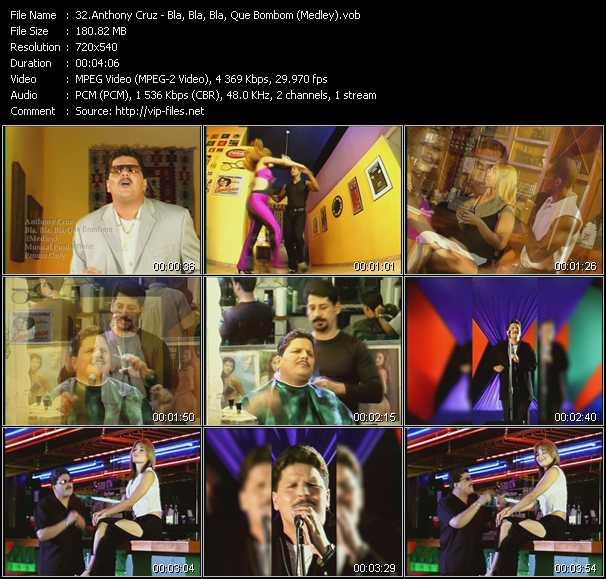 Anthony Cruz - Bla, Bla, Bla, Que Bombom (Medley)