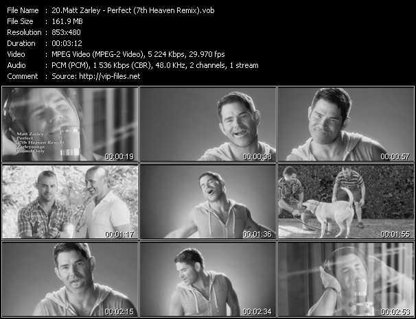Matt Zarley - Perfect (7th Heaven Remix)