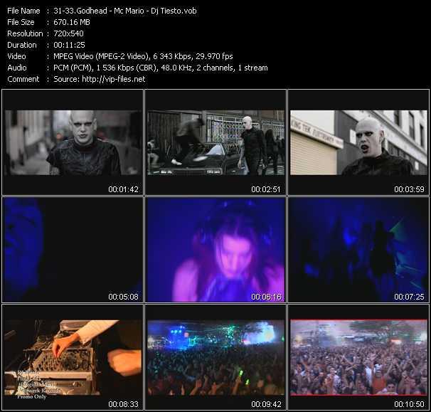 Godhead - Mc Mario - Tiesto - Eleanor Rigby (Sonic State Remix Edit) - Move It (Barrucc's Kwik Remix) - Flight 643 (Original Mix)