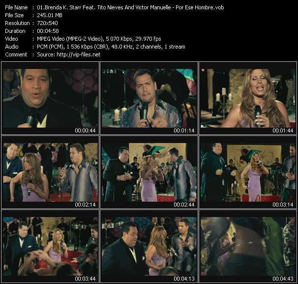 Brenda K. Starr Feat. Tito Nieves And Victor Manuelle - Por Ese Hombre