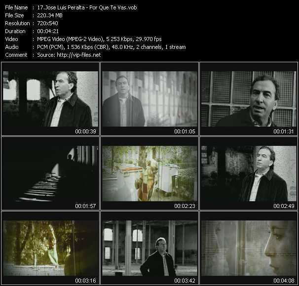 Jose Luis Peralta - Por Que Te Vas