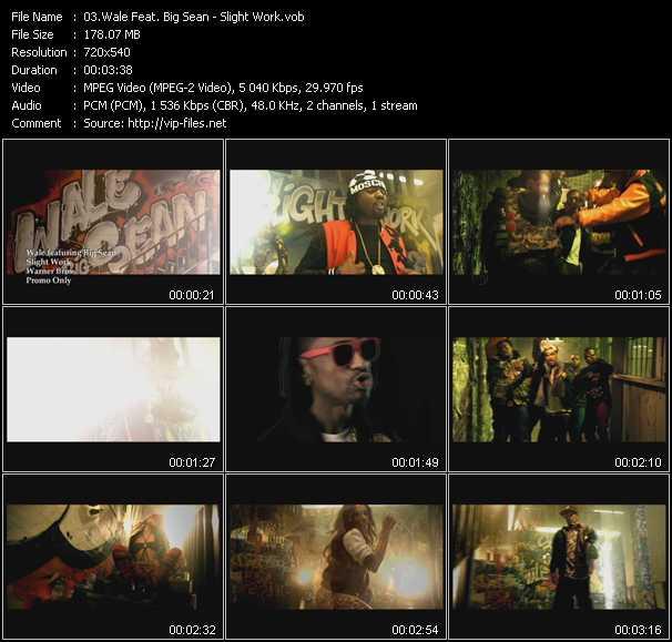 Wale Feat. Big Sean - Slight Work