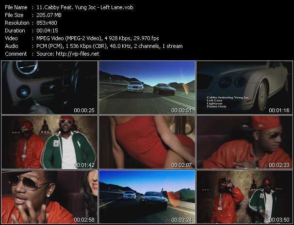 Cabby Feat. Yung Joc - Left Lane