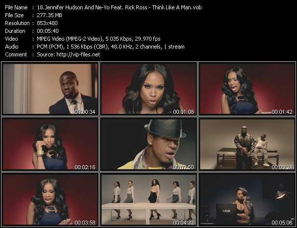 Jennifer Hudson And Ne-Yo Feat. Rick Ross - Think Like A Man