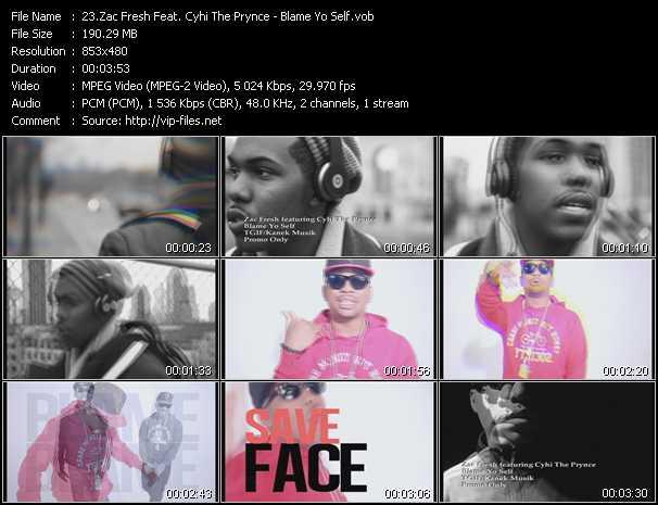 Zac Fresh Feat. Cyhi The Prynce - Blame Yo Self