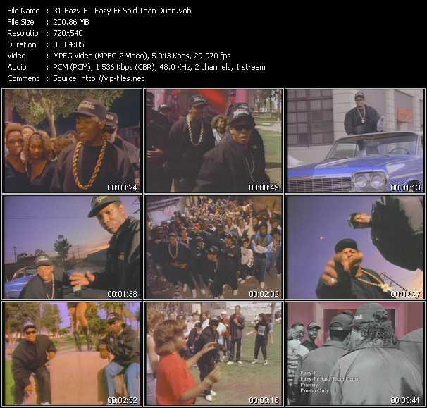 Eazy-E - Eazy-Er Said Than Dunn
