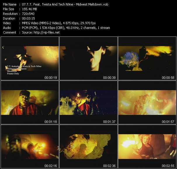 T.T. Feat. Twista And Tech N9ne - Midwest Meltdown